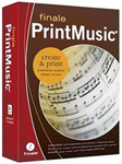 """eMedia The Finale Notation Series PrintMusic Disk Brand New, Product # MME01208 The eMedia Finale PrintMusic software lets you compose, arrange, notate, and print engraver-quality sheet music"